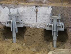 Foundation Repair Helical Piles Foundation Underpinning - Under-pinning-foundations